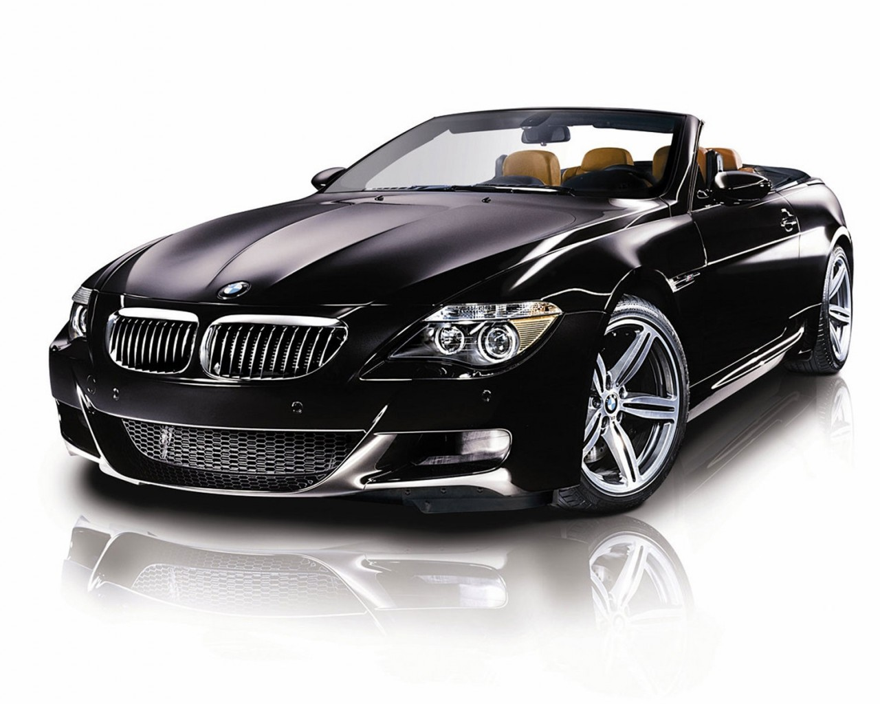 BMW luxury cars with an open top
