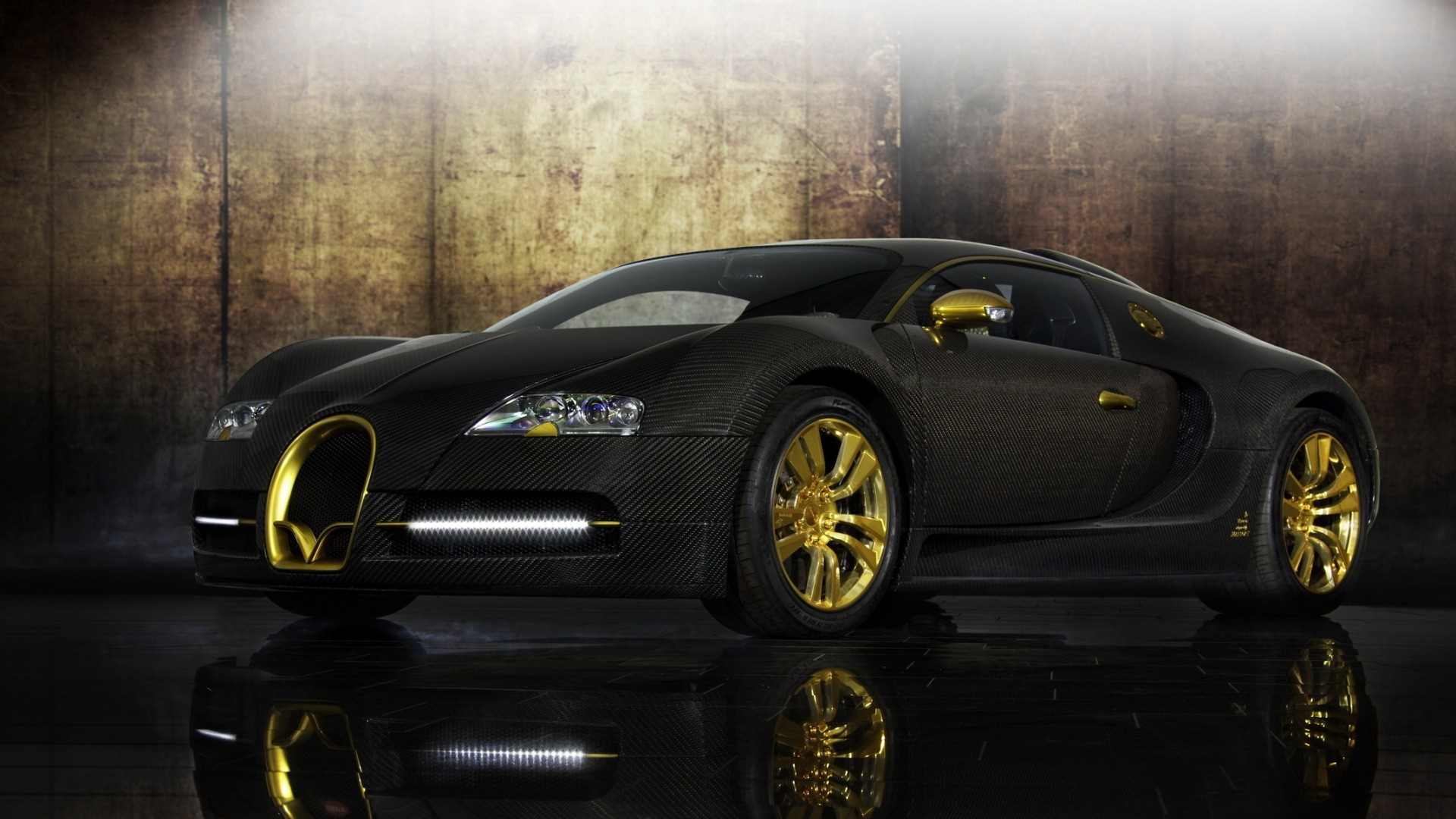 Bugatti Veyron car, photo wallpaper