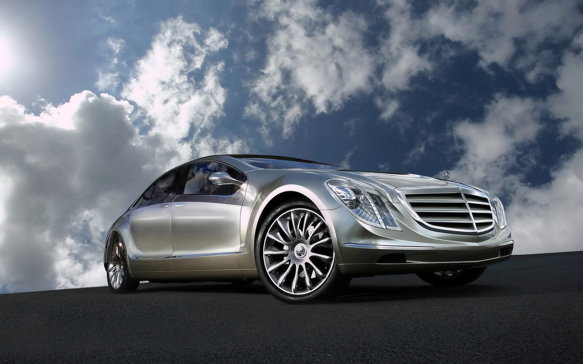 Mercedes E-Class, sedan - gorgeous photos on your desktop 1920x1200