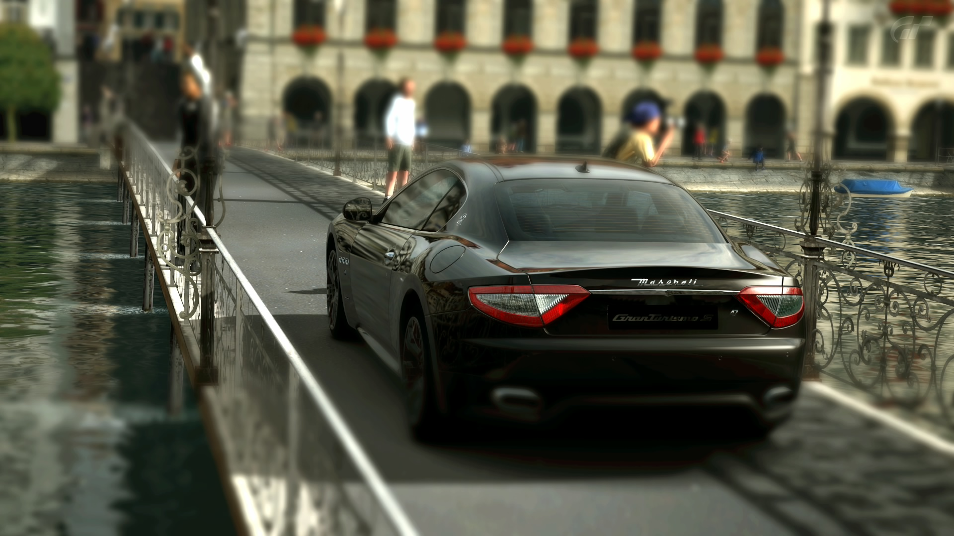 Photo Maserati Gran Turismo, rear view.