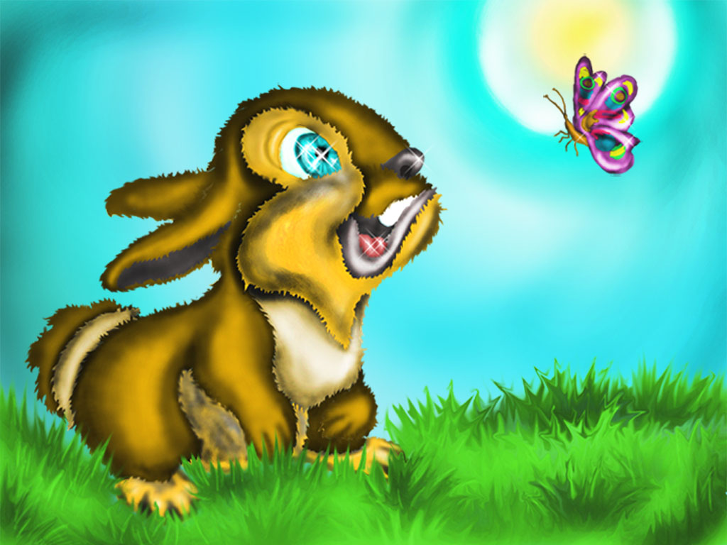 Bunny and Butterfly