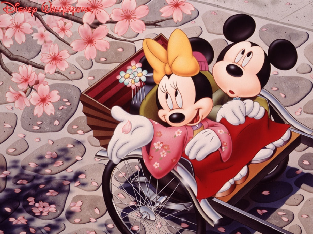 Mickey and Mini Mouse
