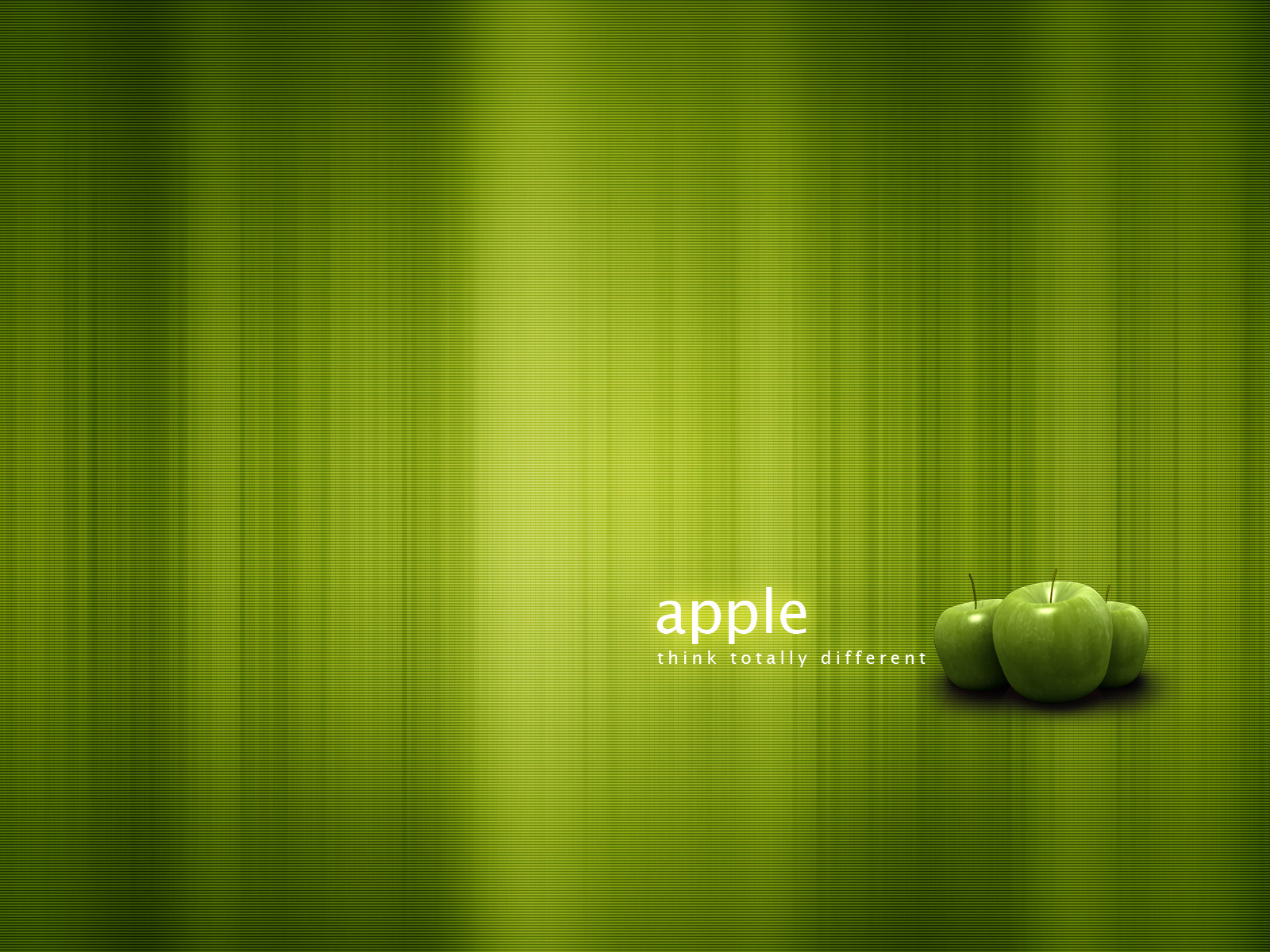 Apple-think totallyy different