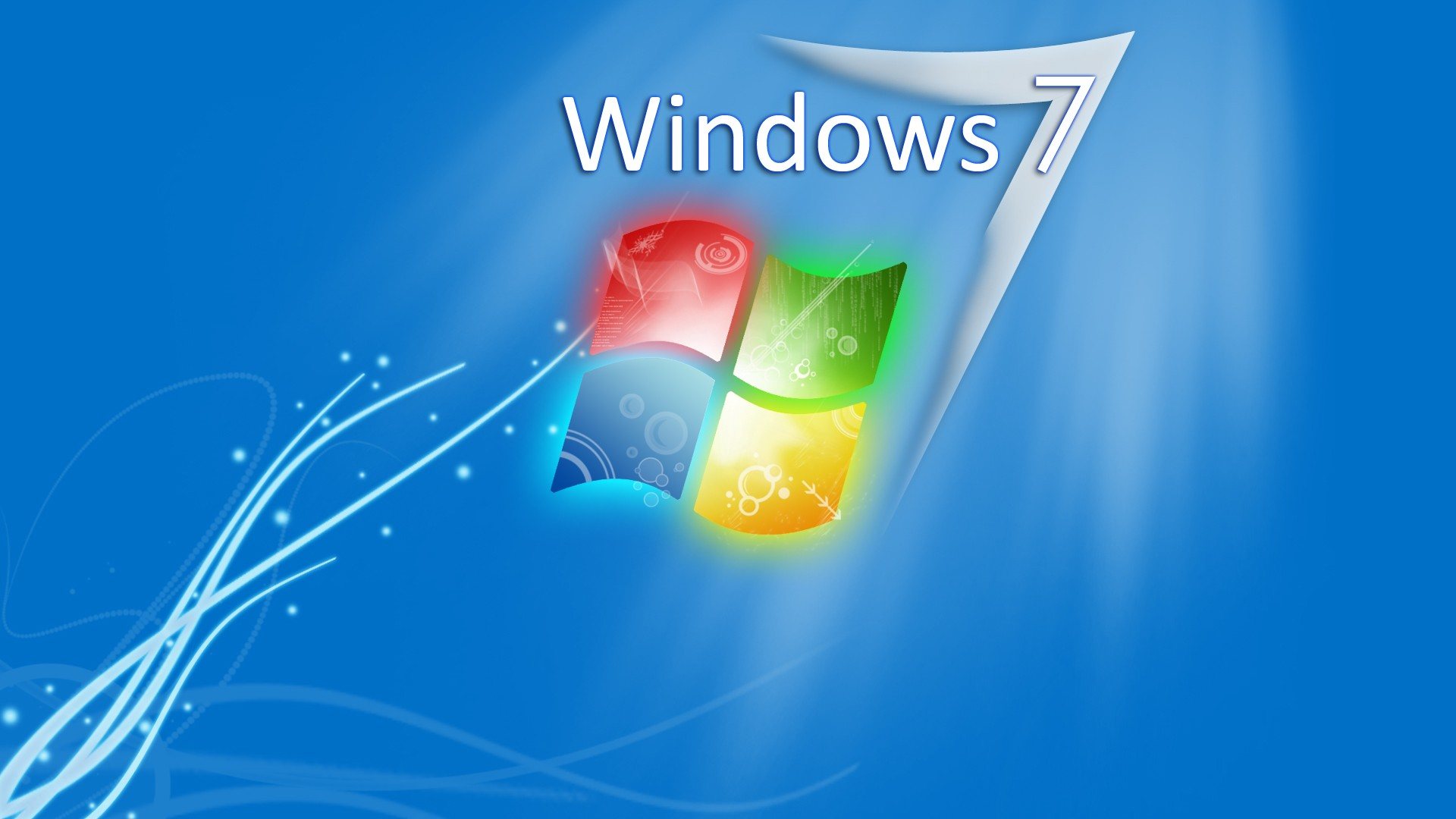 Branded saver Windows 7