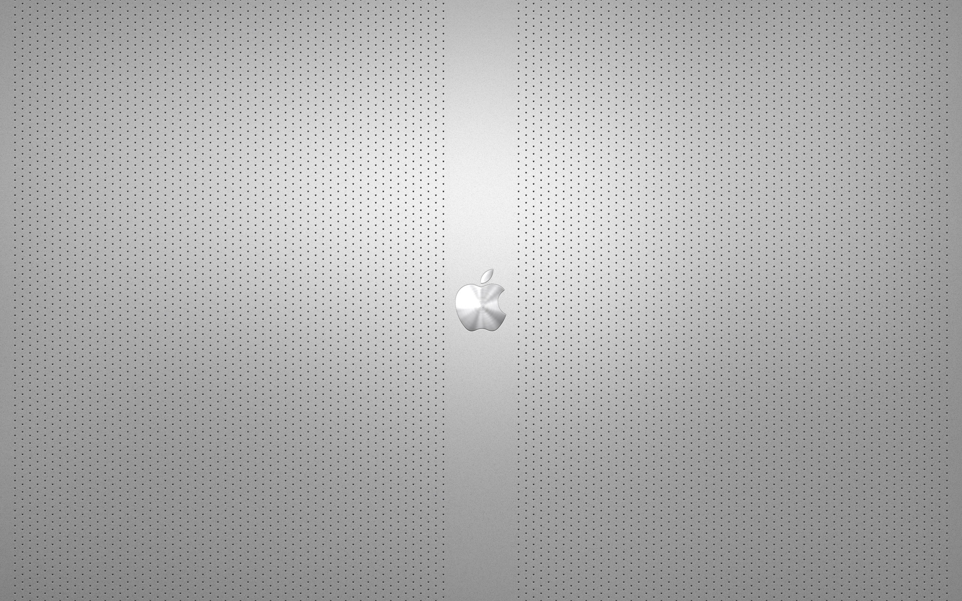 Steel (Silver) Apple Mac Wallpaper