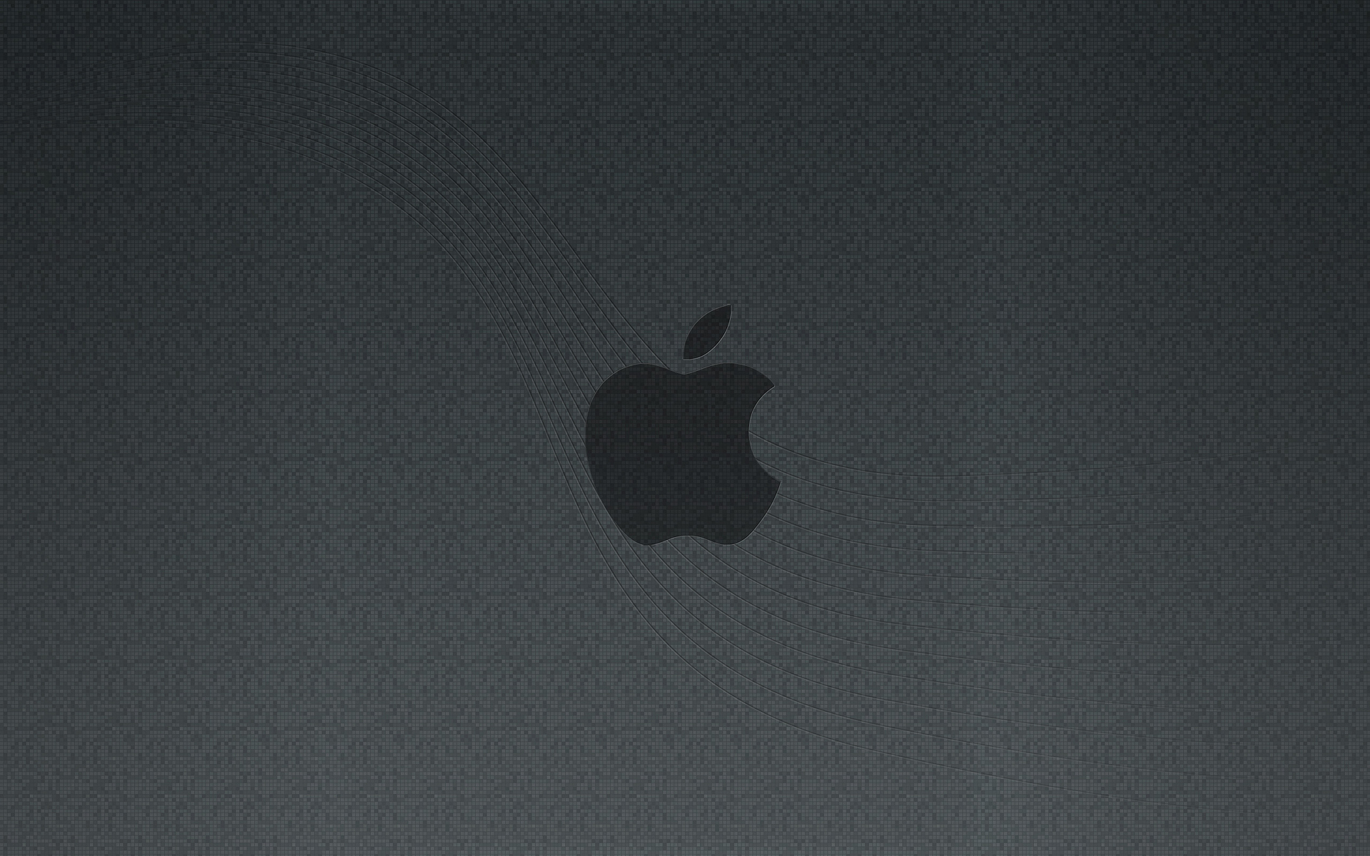 Stylish branded wallpaper from Apple