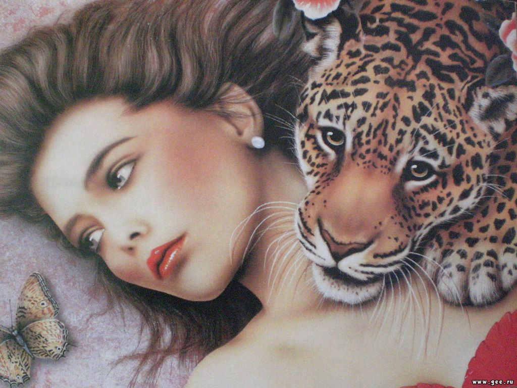 girl-with-leopard