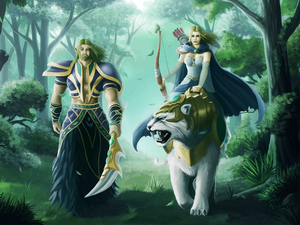 Keepers of the Bright Forest