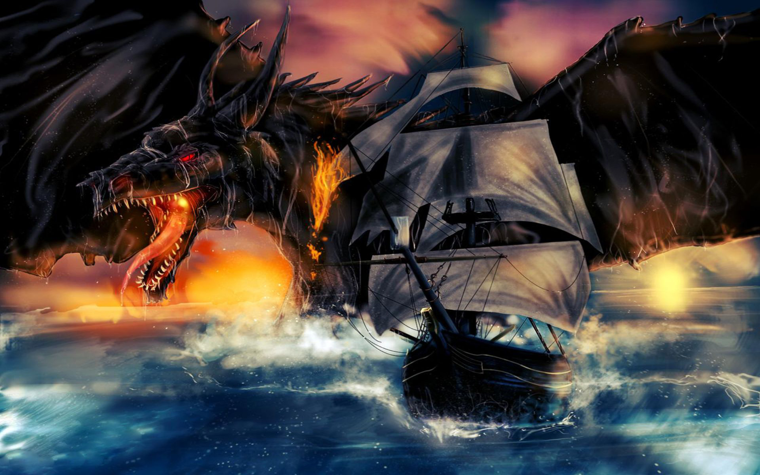 Ship Black Dragon