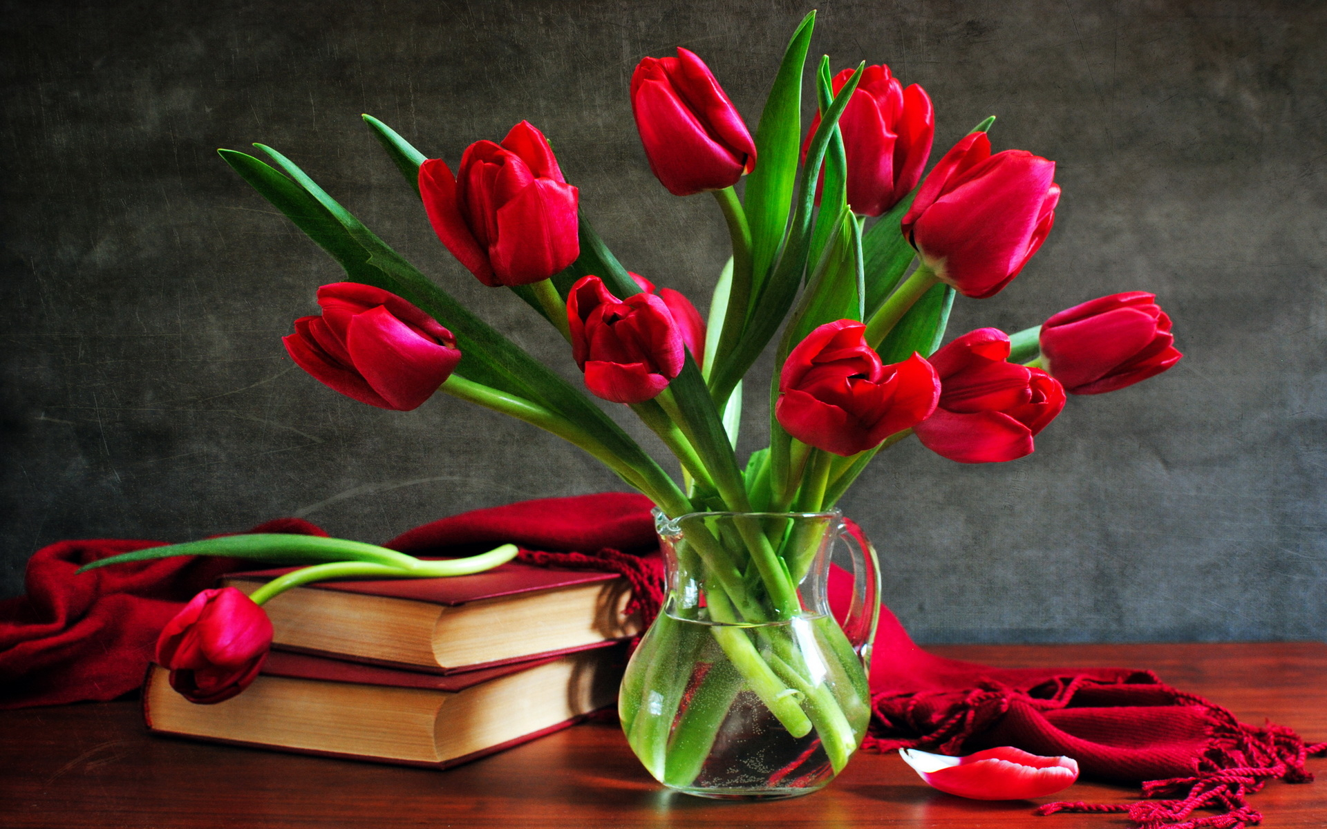 Tulips for dear Olga