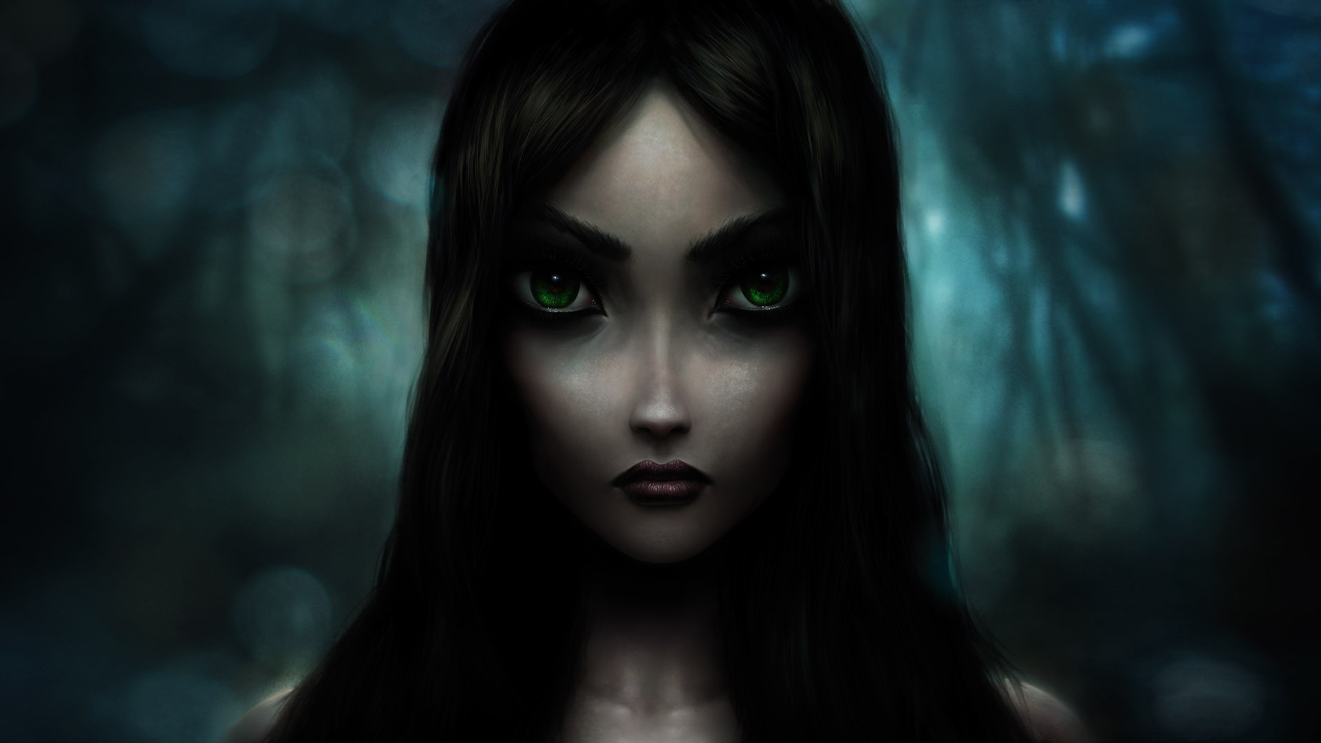 Alice madness return, wallpaper on the game