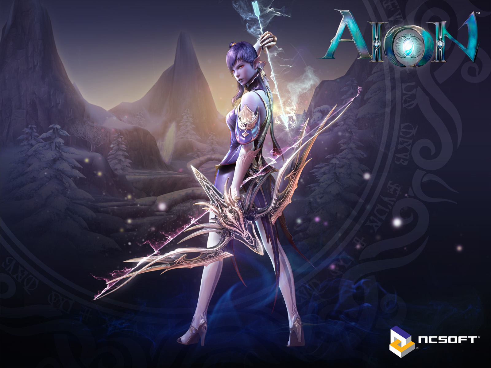 Archers of MMORPG Aion