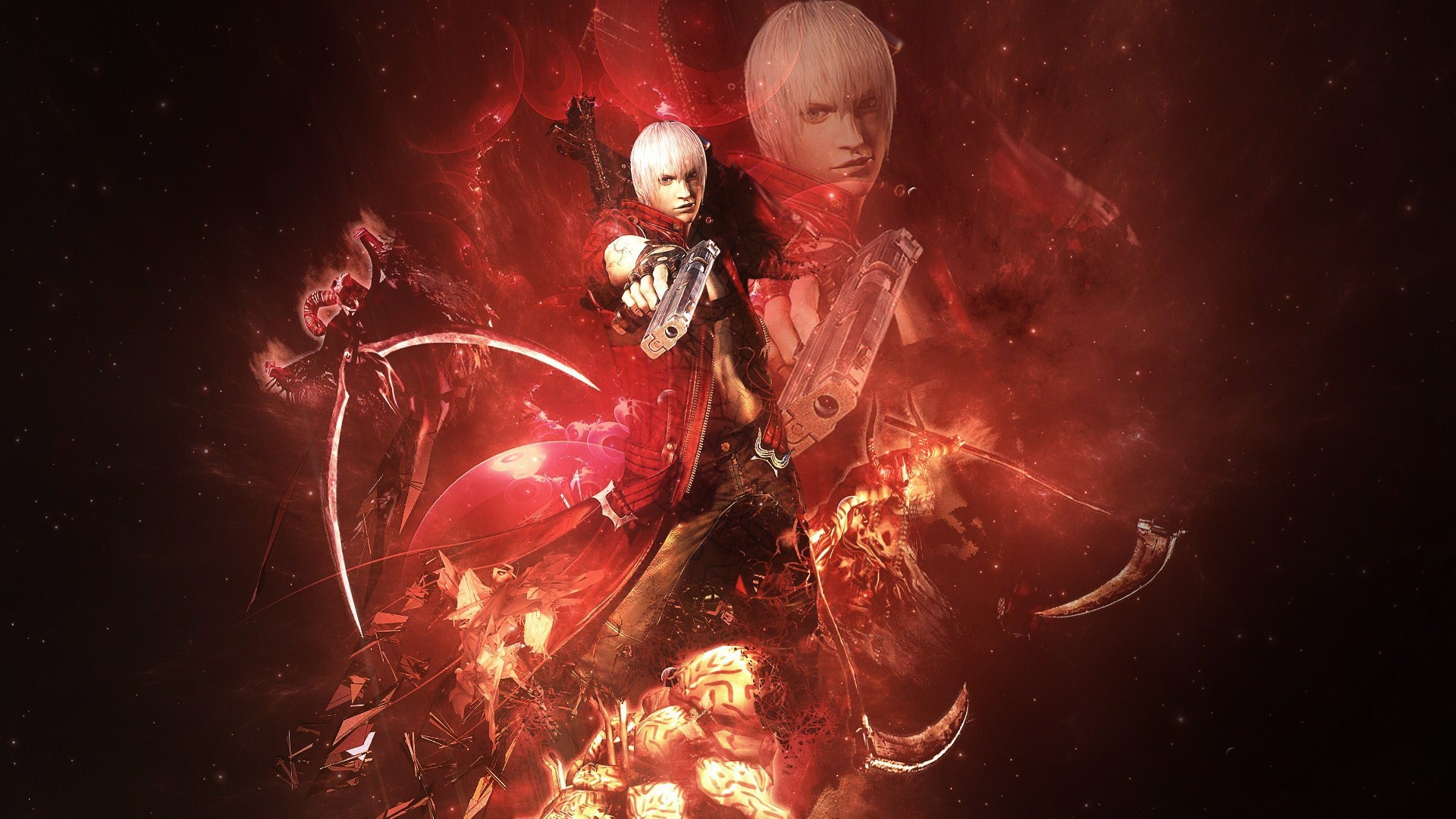 Dante Sparda of the game Devil May Cry
