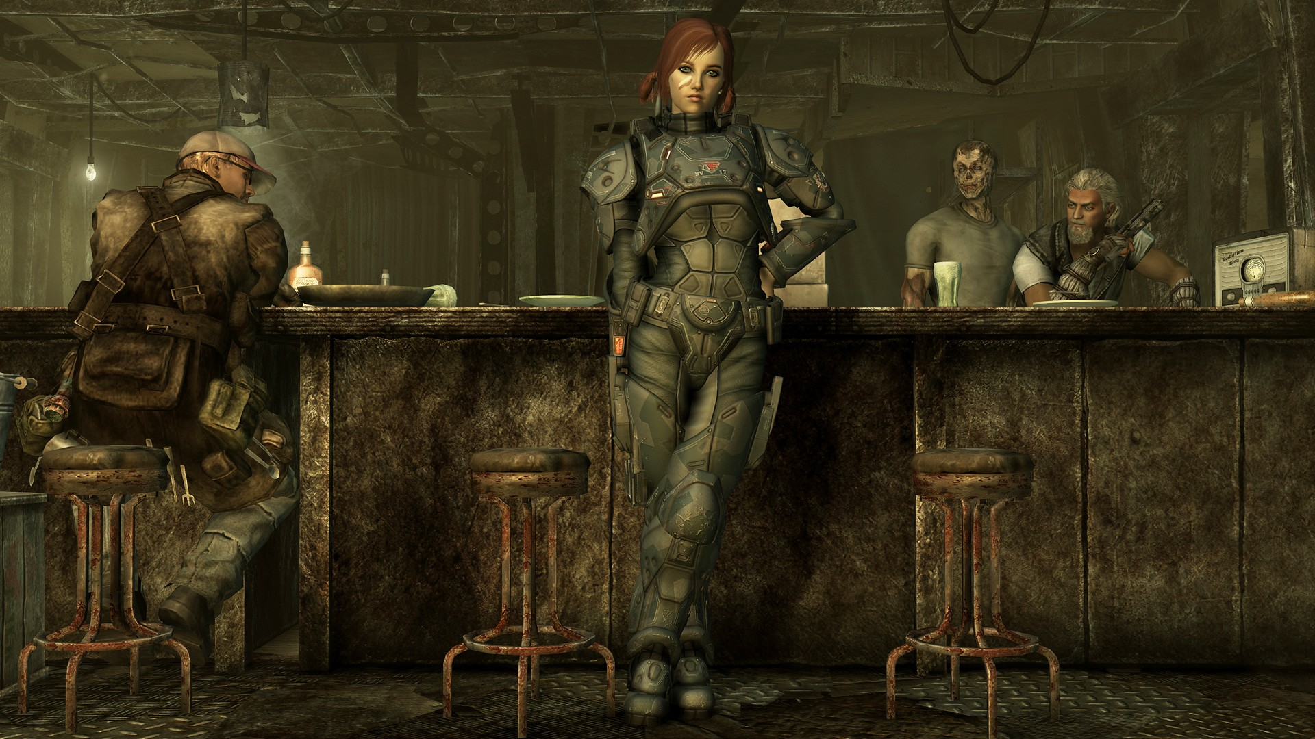 Fallout 3 - the girl at the bar