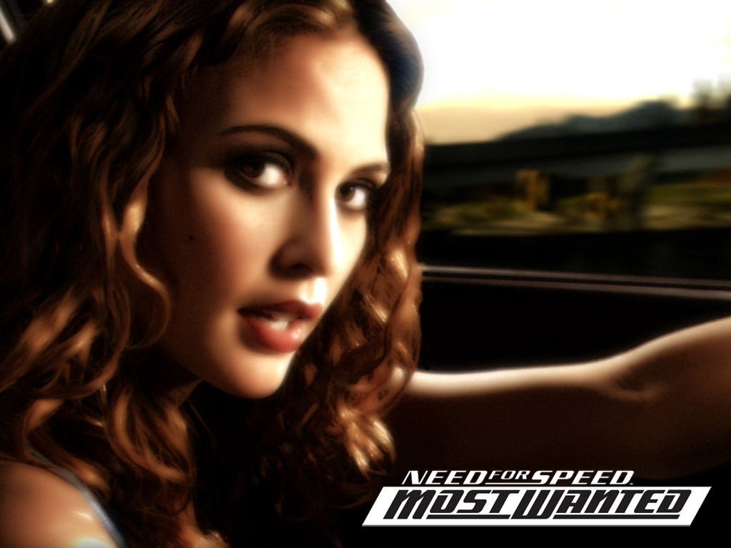 Girl from Need For Speed: Most Wanted.