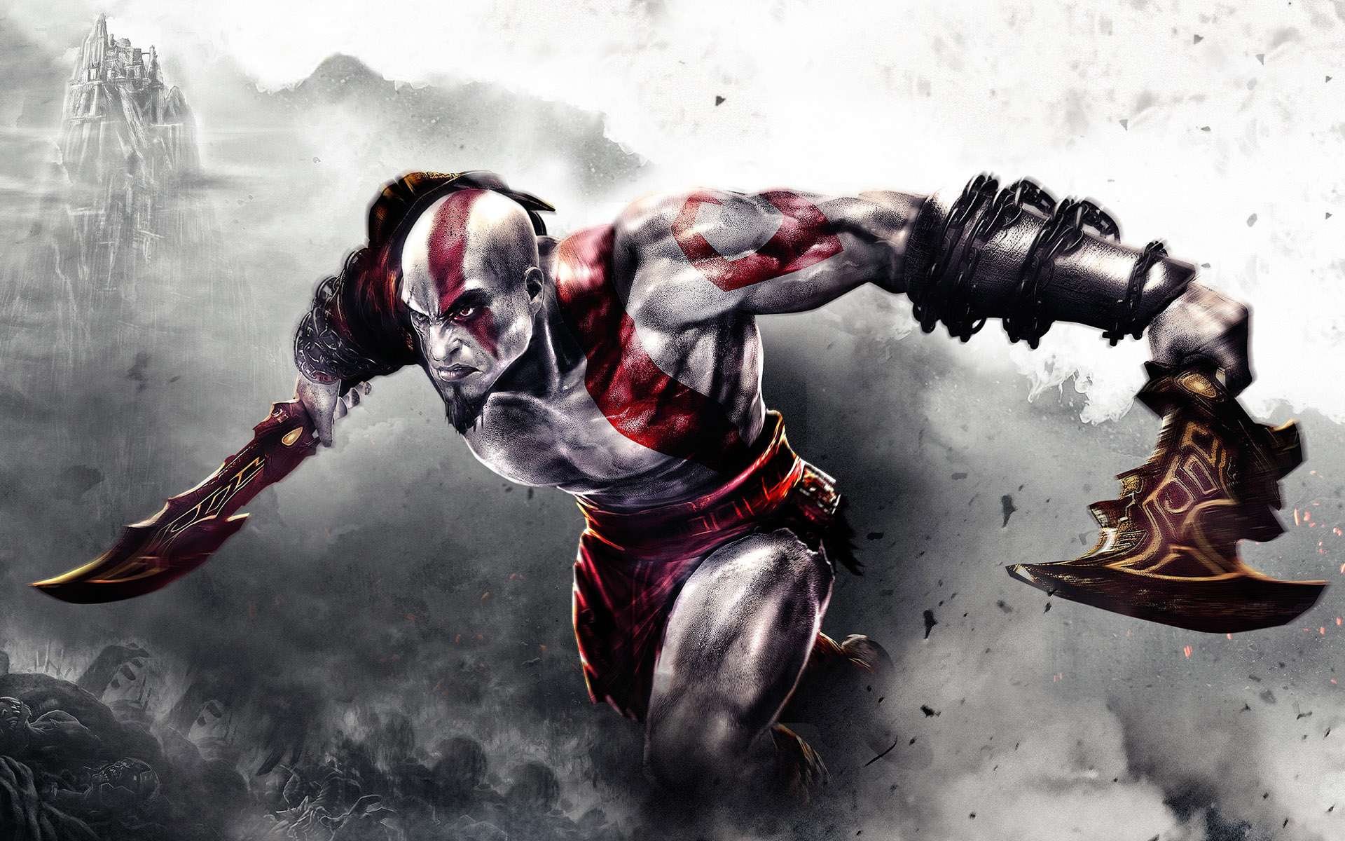 God Of War Sketch of the game