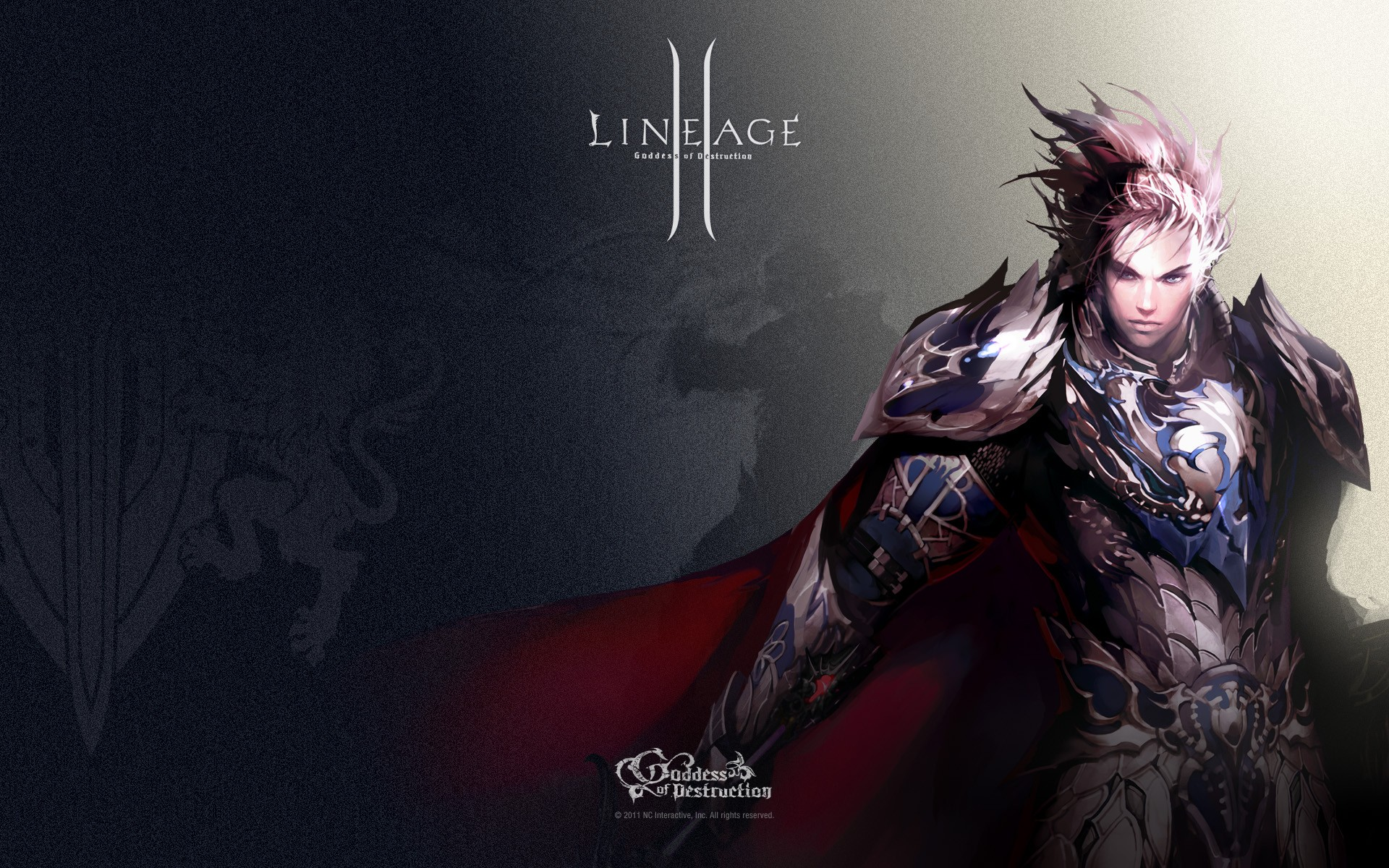 Kamael with a crossbow in the new part of Lineage 2: Goddess of destruction