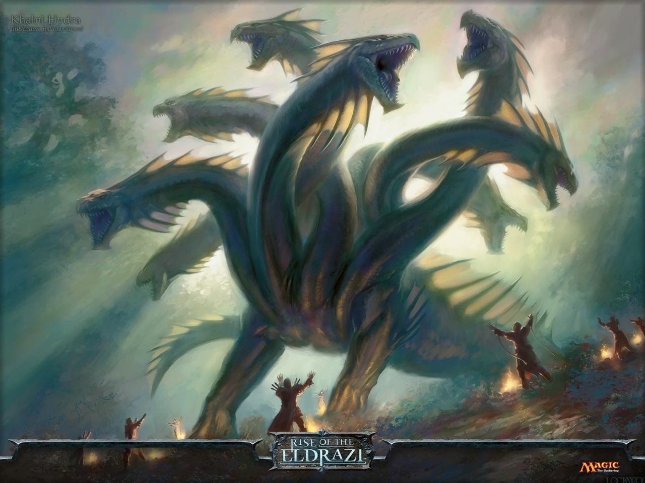 Magic Gathering - Khalni hydra