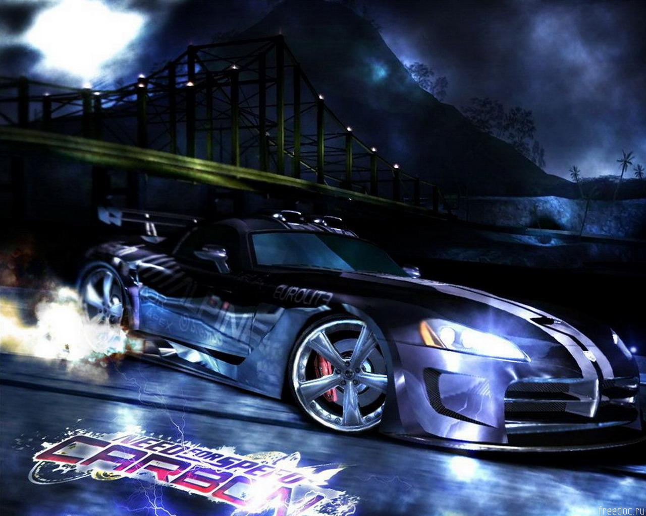 Need for speed Carbon - Wallpaper game play
