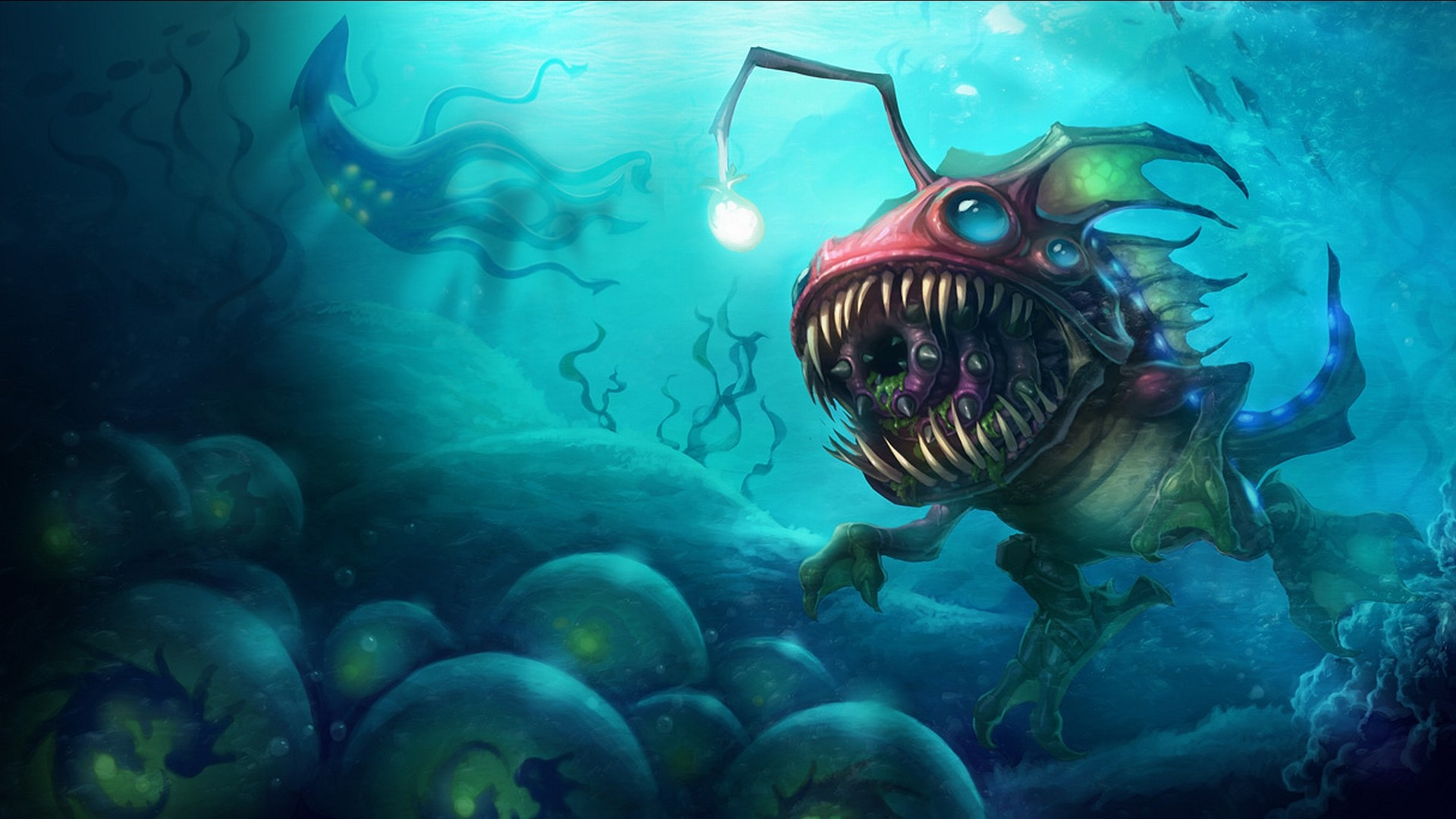 Sea monster from the League of Legends