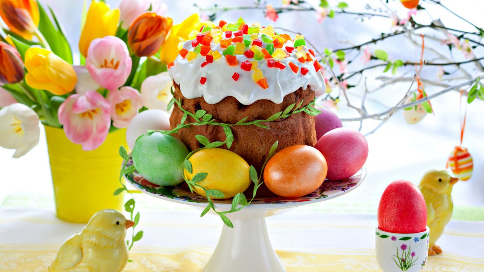 Easter eggs abbreviated holiday