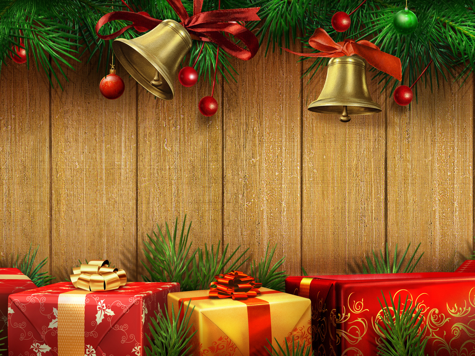 Gifts and bells