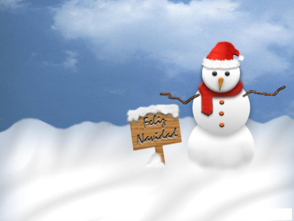 snowman vector christmas wallpaper theme new year