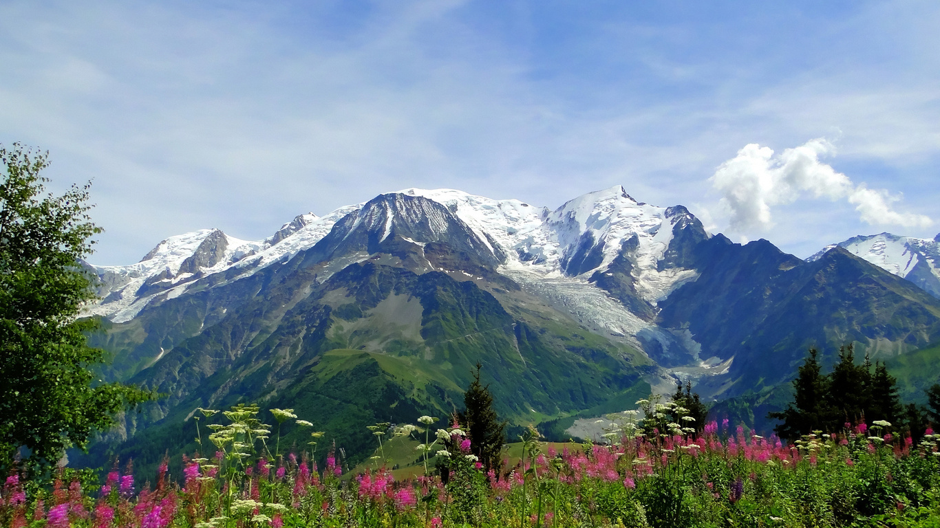 Mont Blanc, the Alps