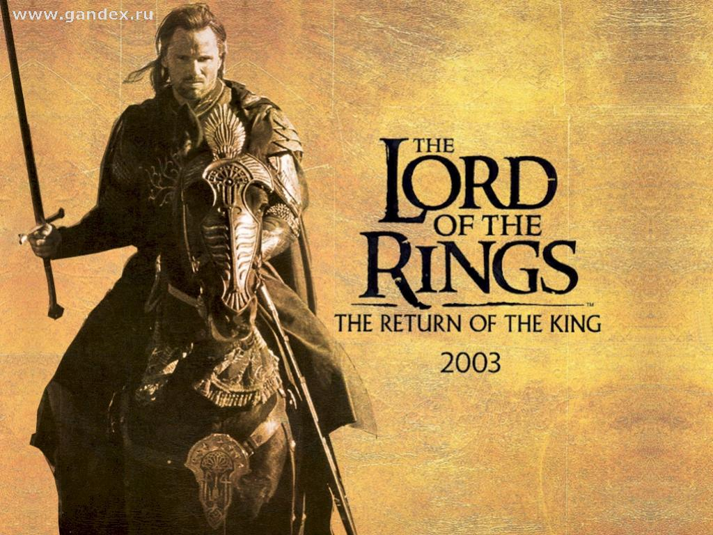 Background Wallpapers - Return of the King - The Lord of the Rings - Aragorn on a horse, a film, a book