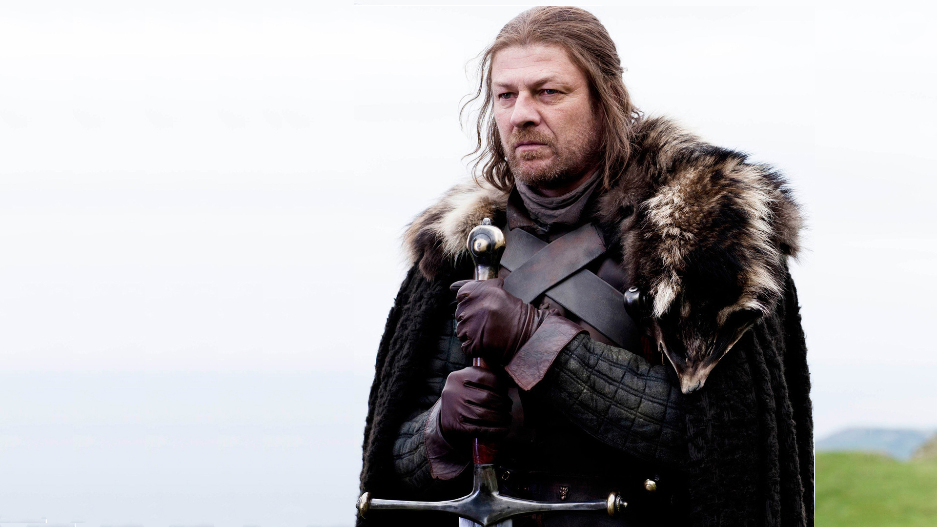 Eddard Stark (Sean Bean) in the movie Game of Thrones (Game of Thrones)