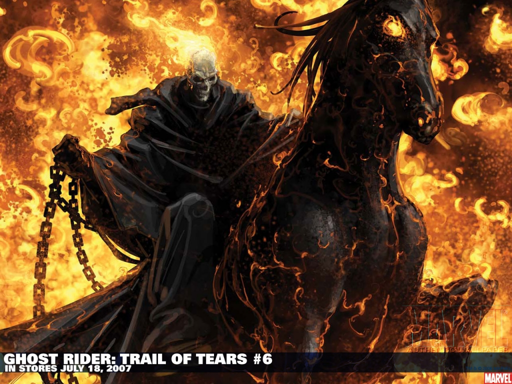 download desktop wallpaper first ghost rider