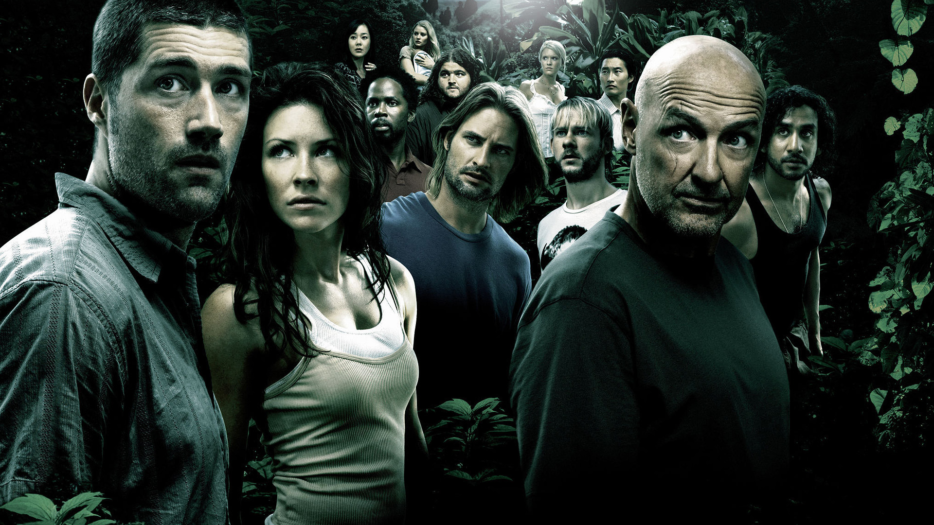 Key characters of the series to stay alive (LOST)