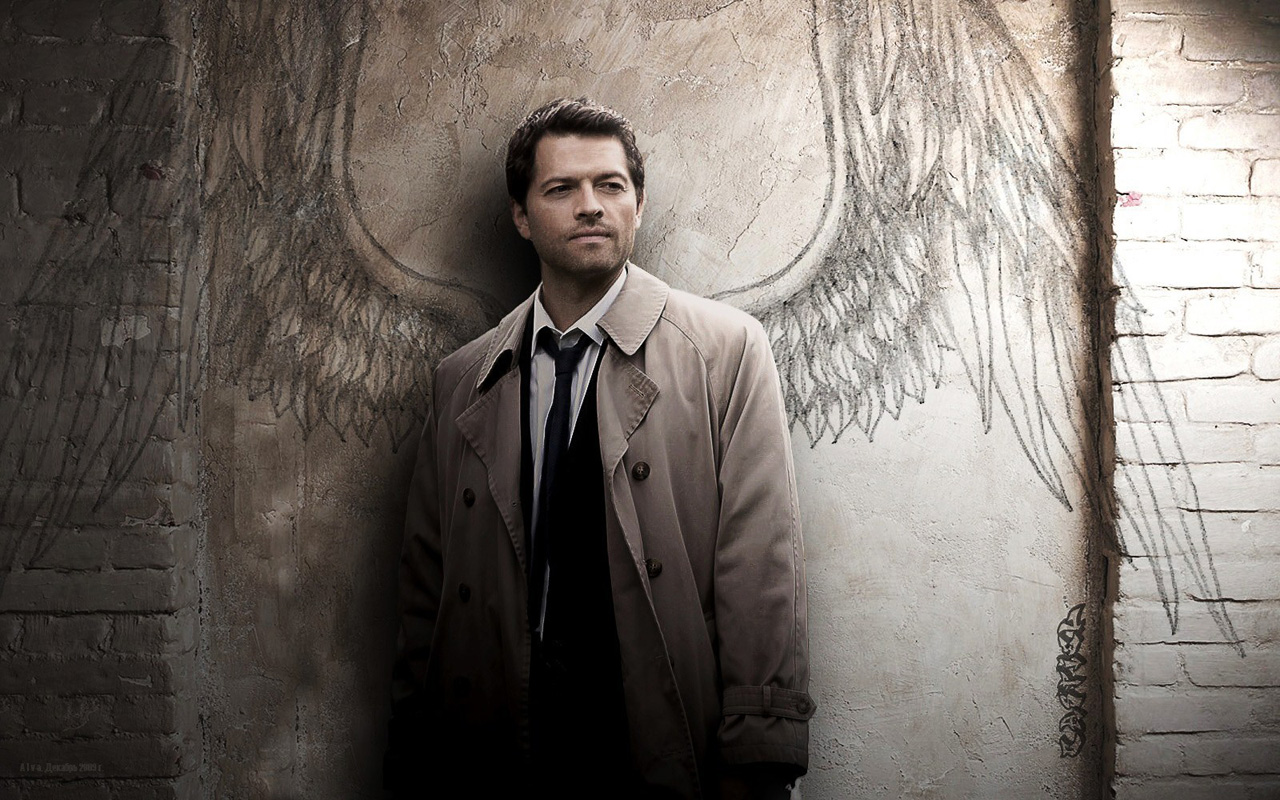 Misha Collins in the TV series Supernatural