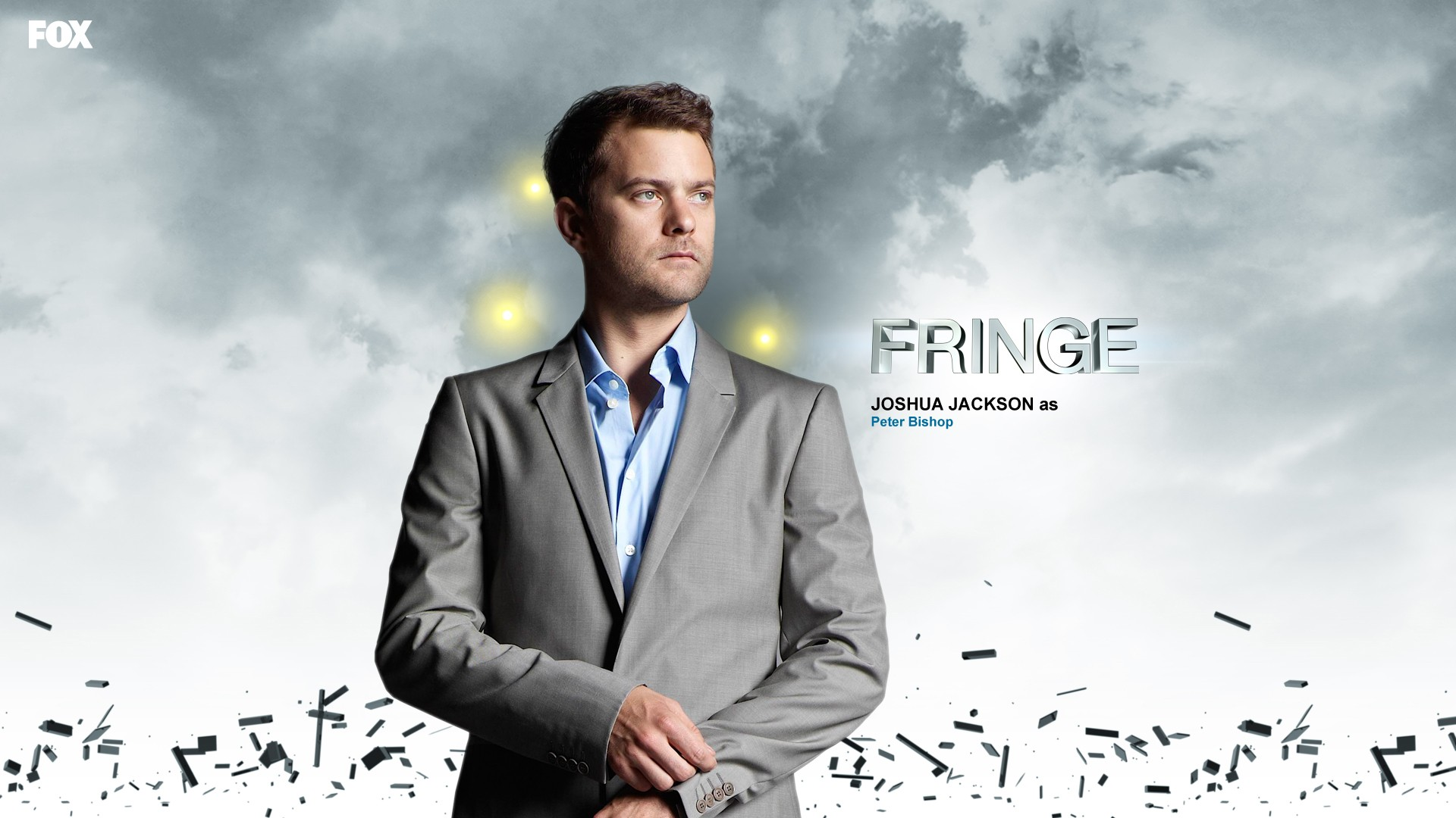 Peter Bishop, the main character of the series Fringe