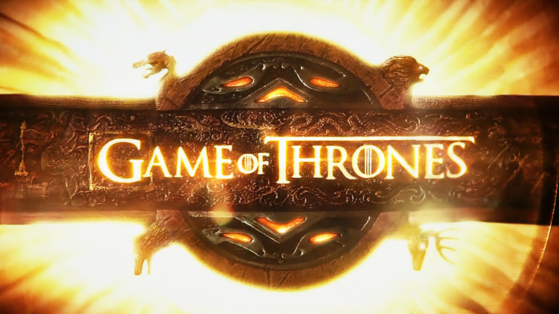 Screensaver of the movie Game of Thrones