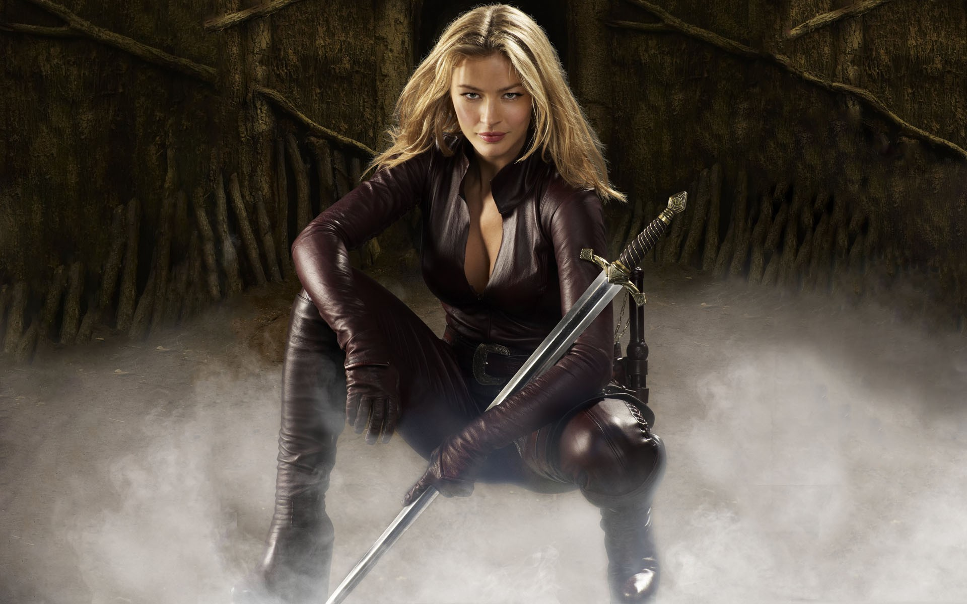 Tabrett Bethell photos from the movie The Legend of the Seeker