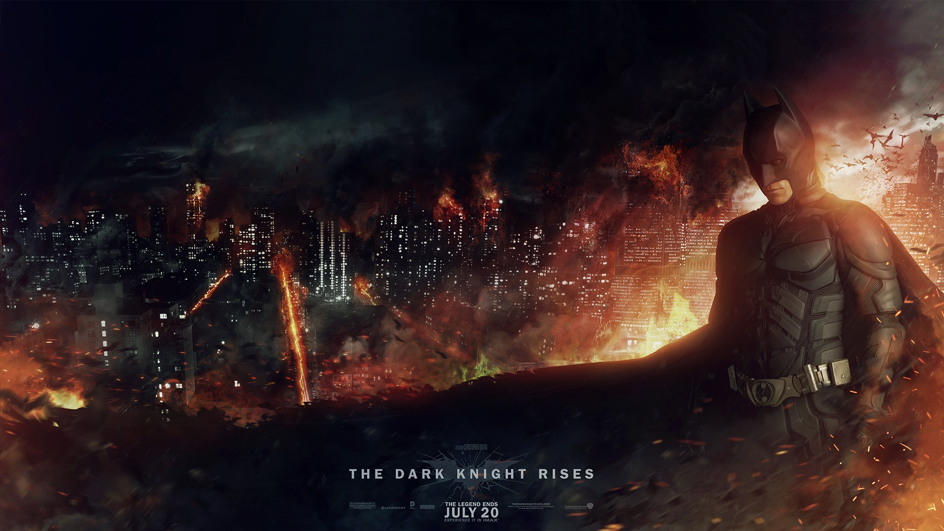 The Dark Knight Rises, wallpaper