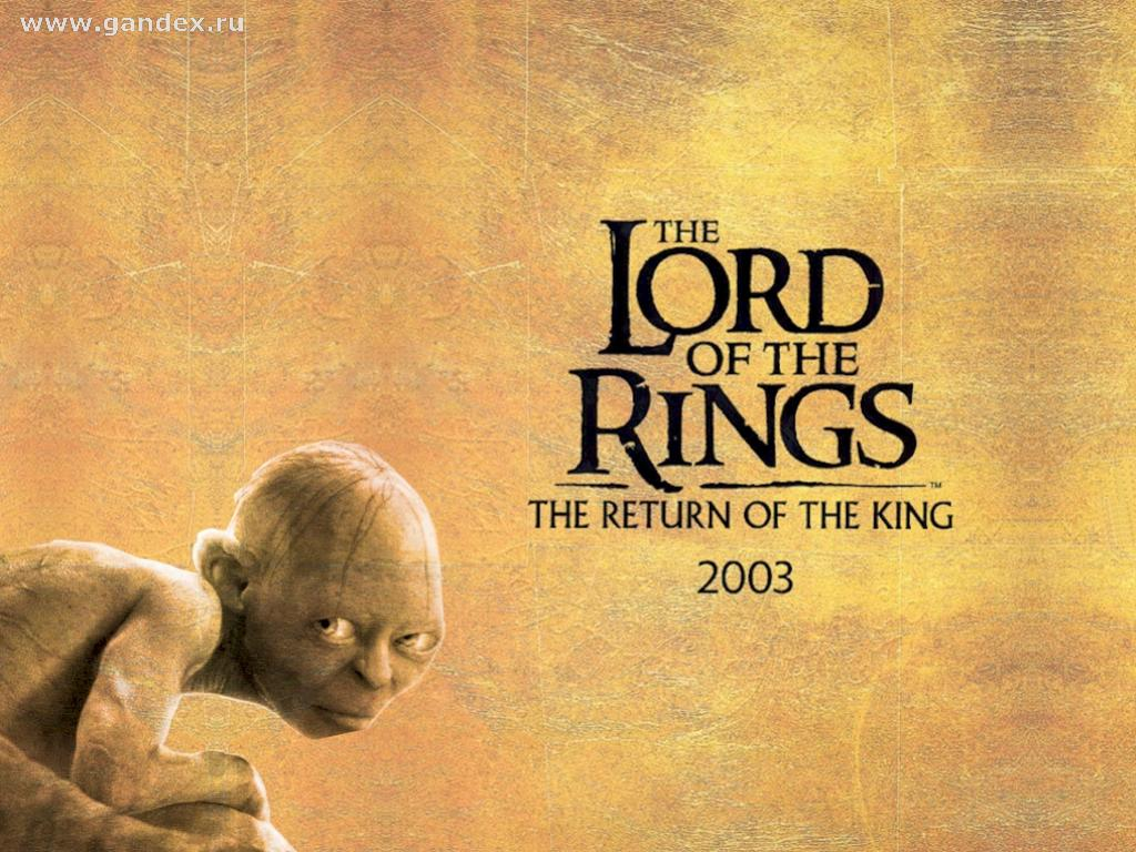 The Lord of the Rings - The Return of the King - Gollum 2003, wallpaper, movie, book, Tolkien