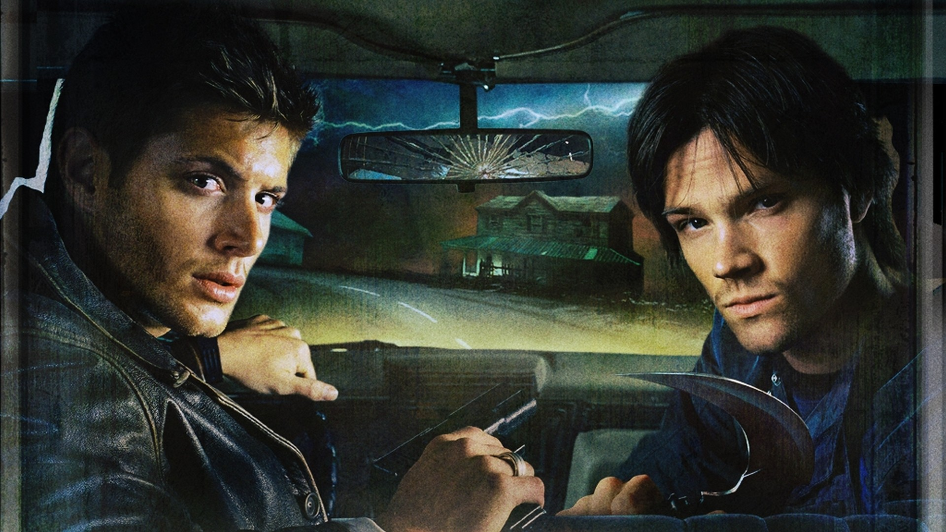 Winchester brothers of Supernatural serial movie