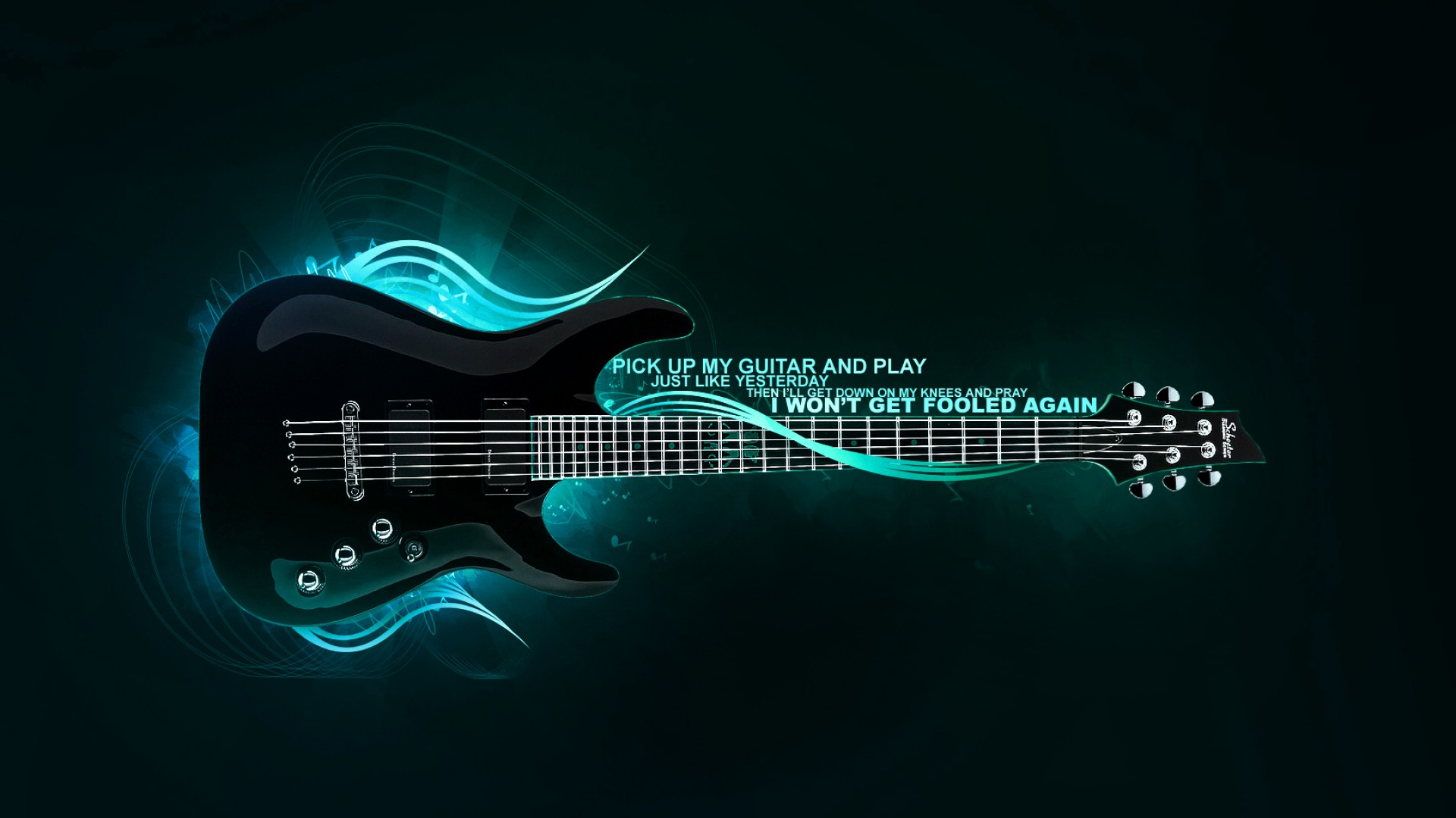 Bass guitar, wallpaper