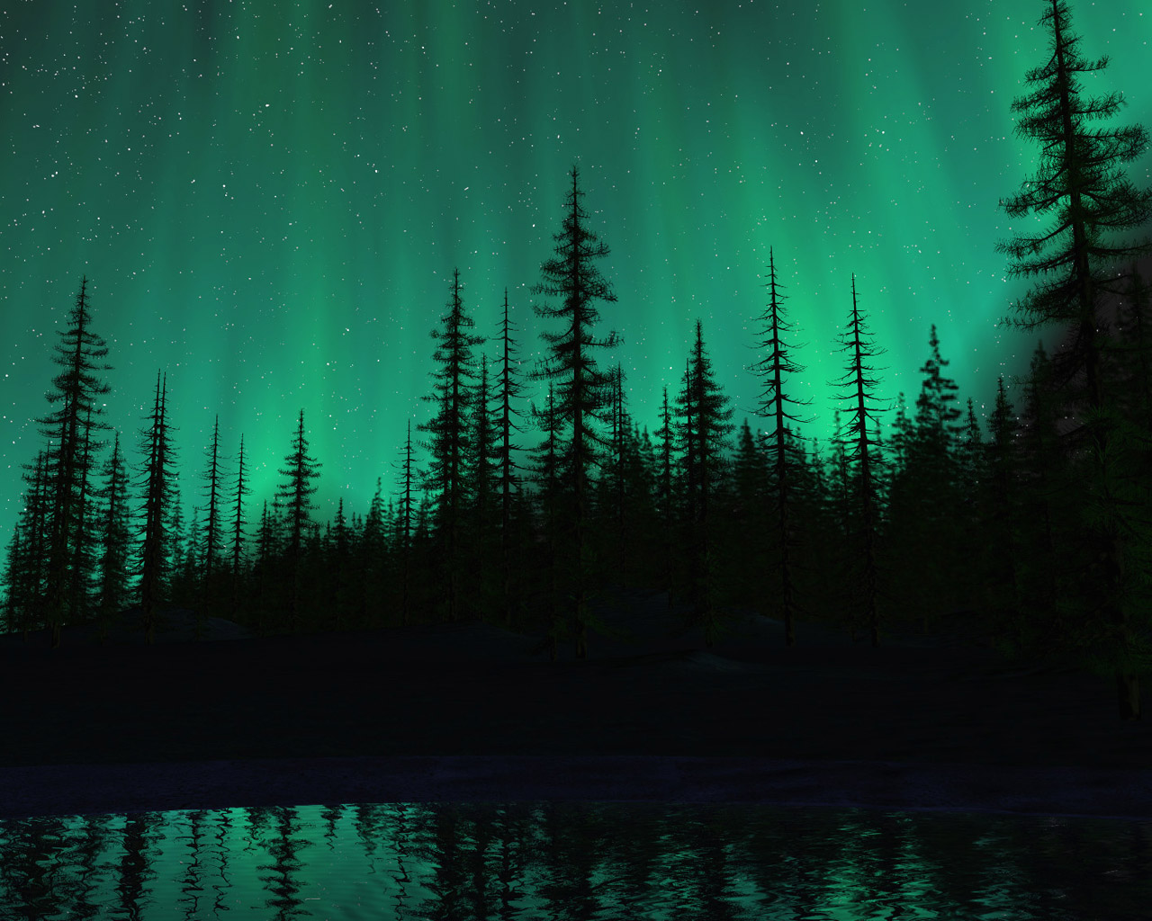 Fairy Tale Forest - A screensaver for your desktop