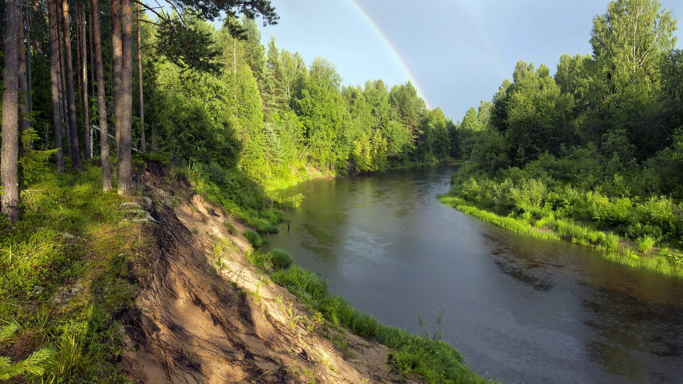 Forest River rainbow