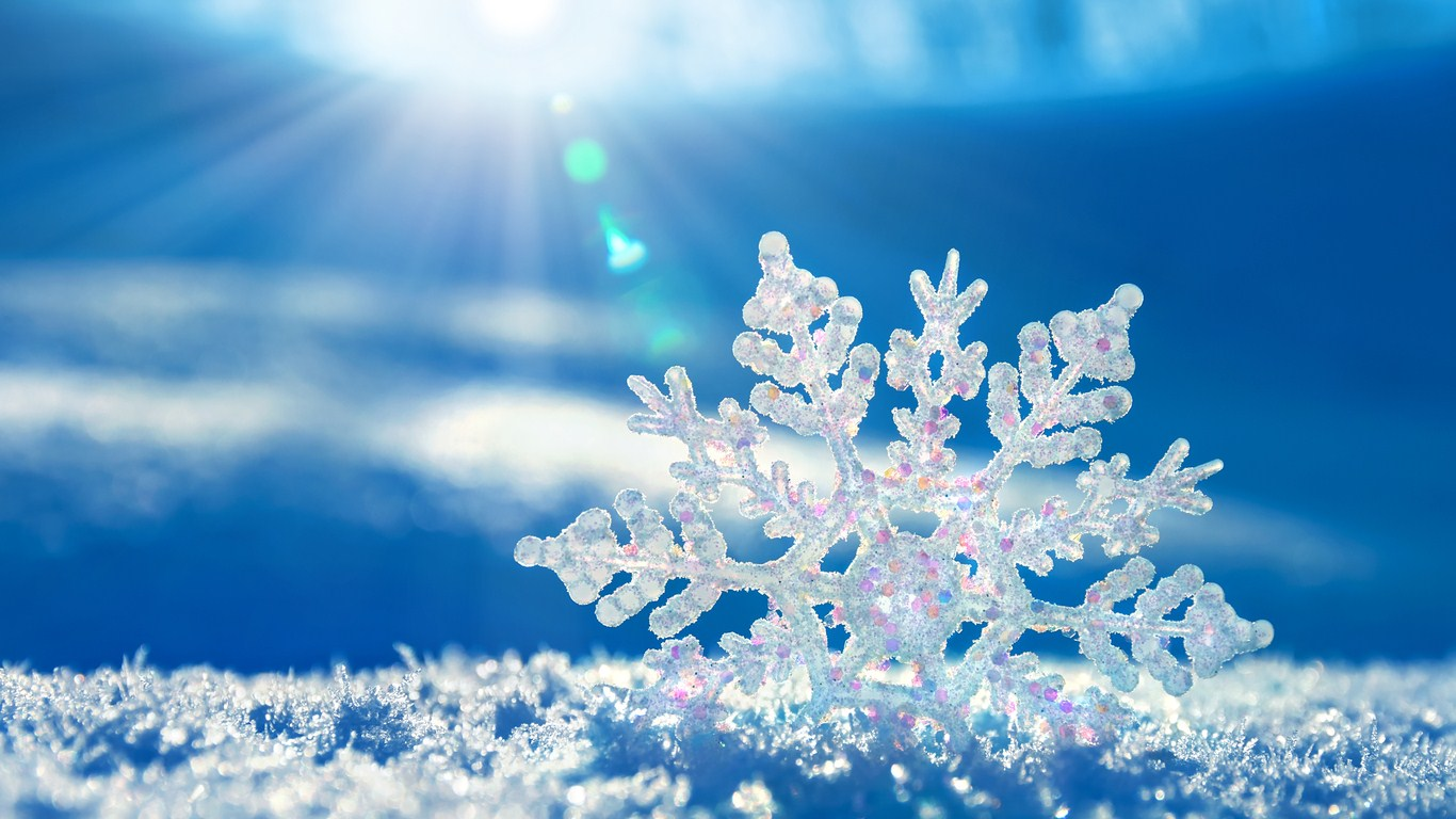 Image result for sparkling snowflake