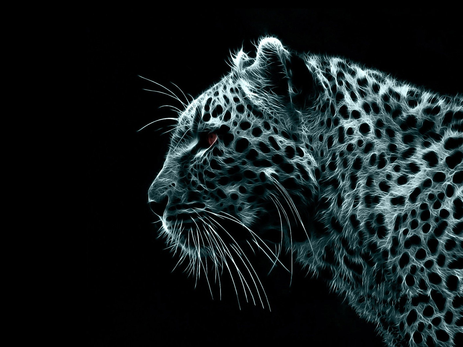 cheetah in 3D