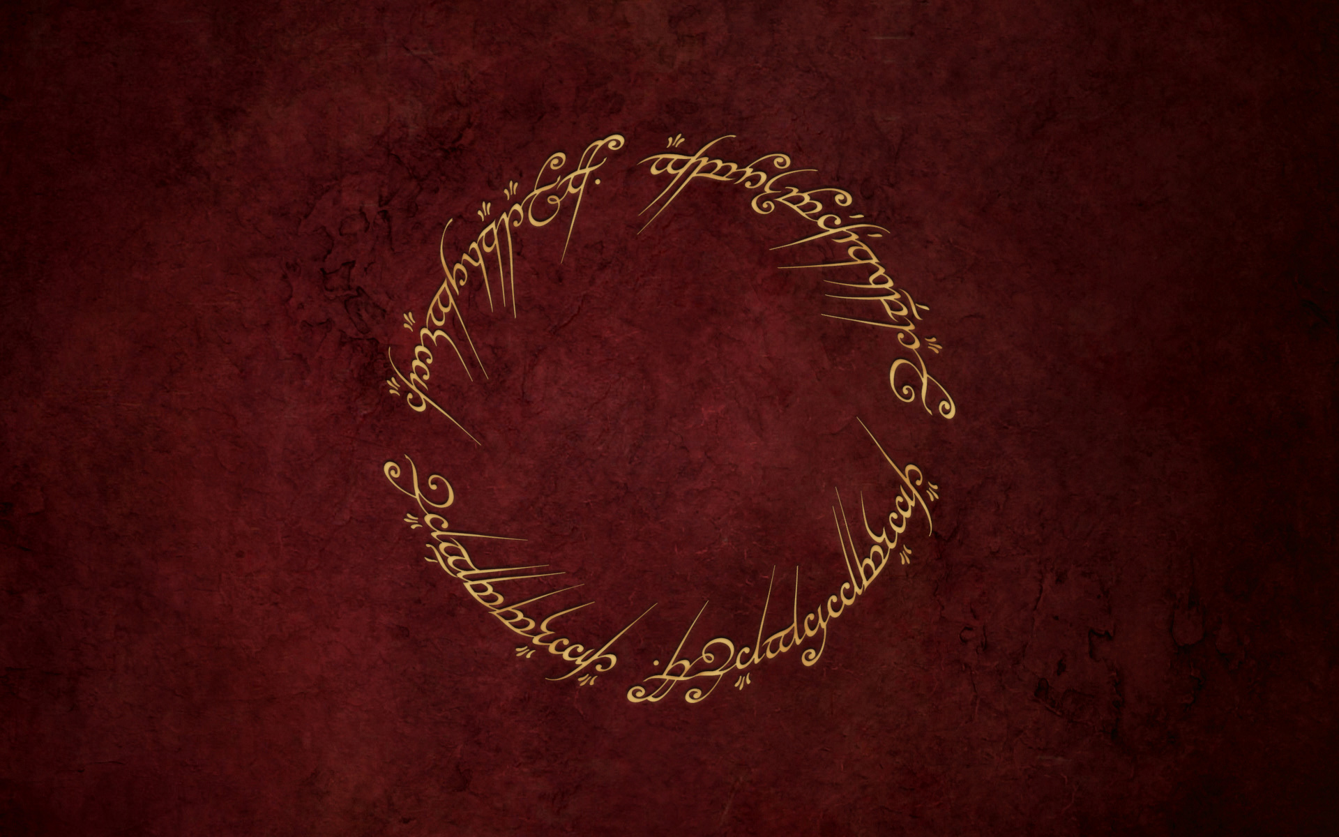 Plate with Ring (Lord of the Rings).