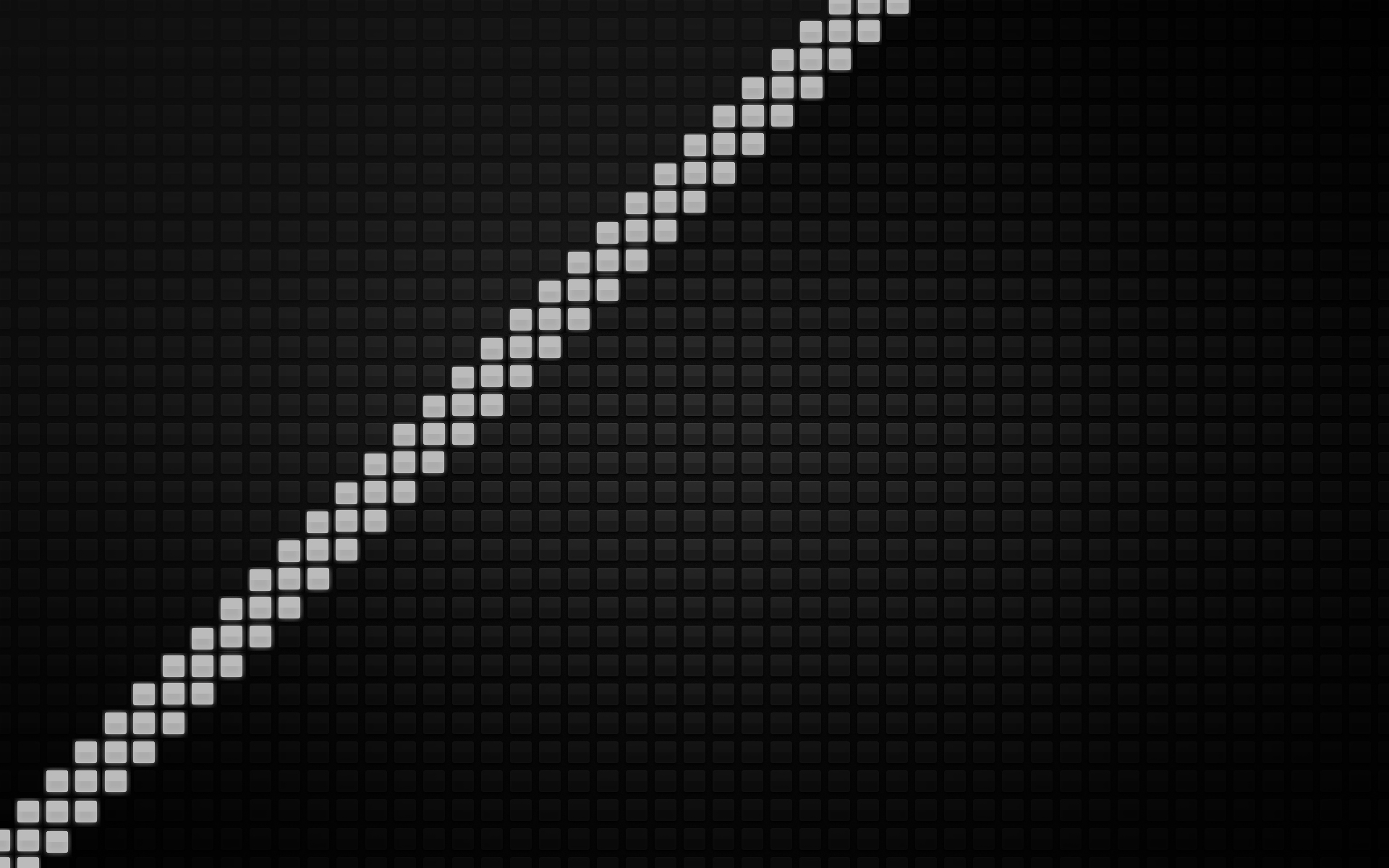 The line of pixels, stylish wallpaper.