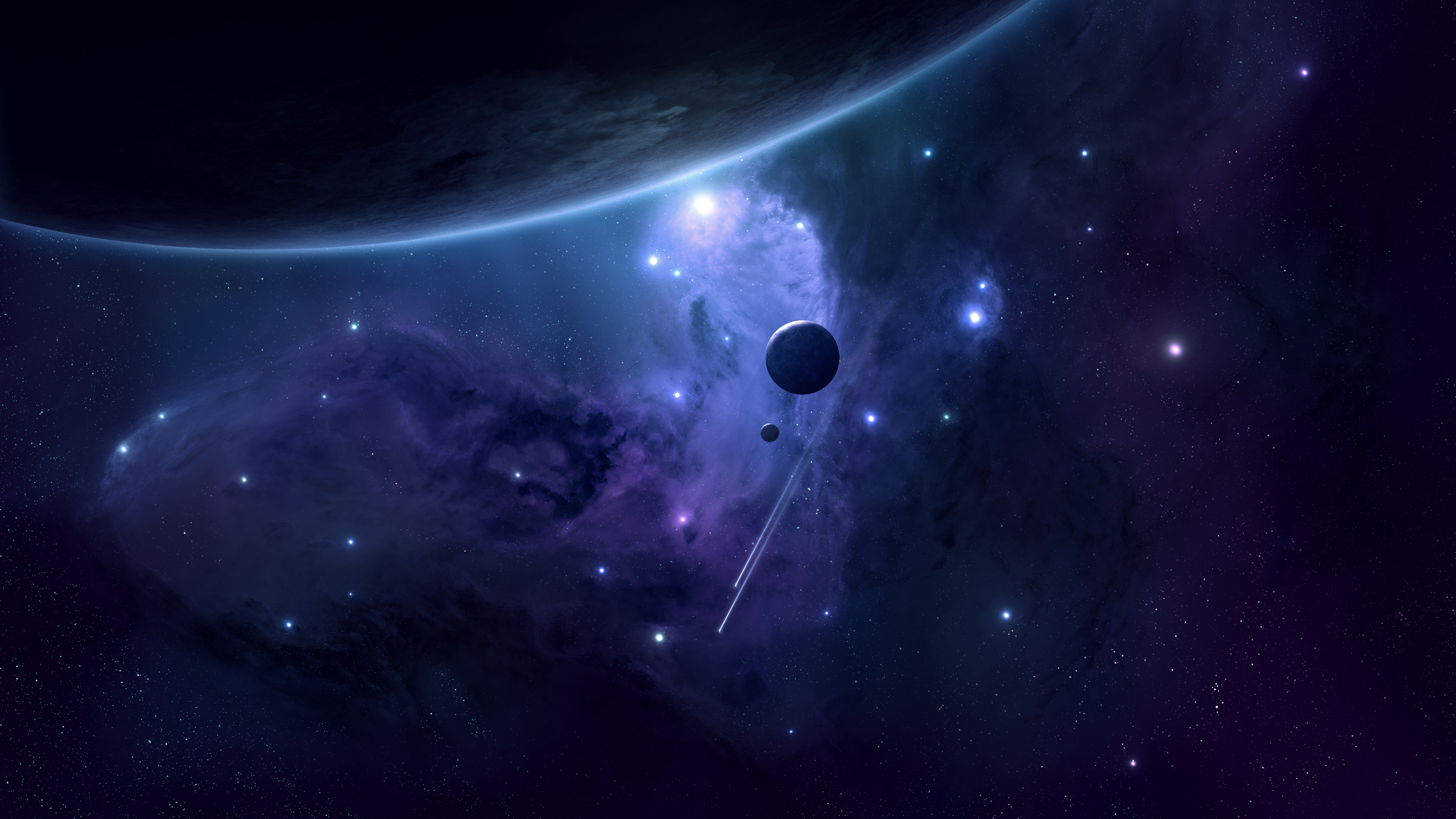 In an unexplored galaxy