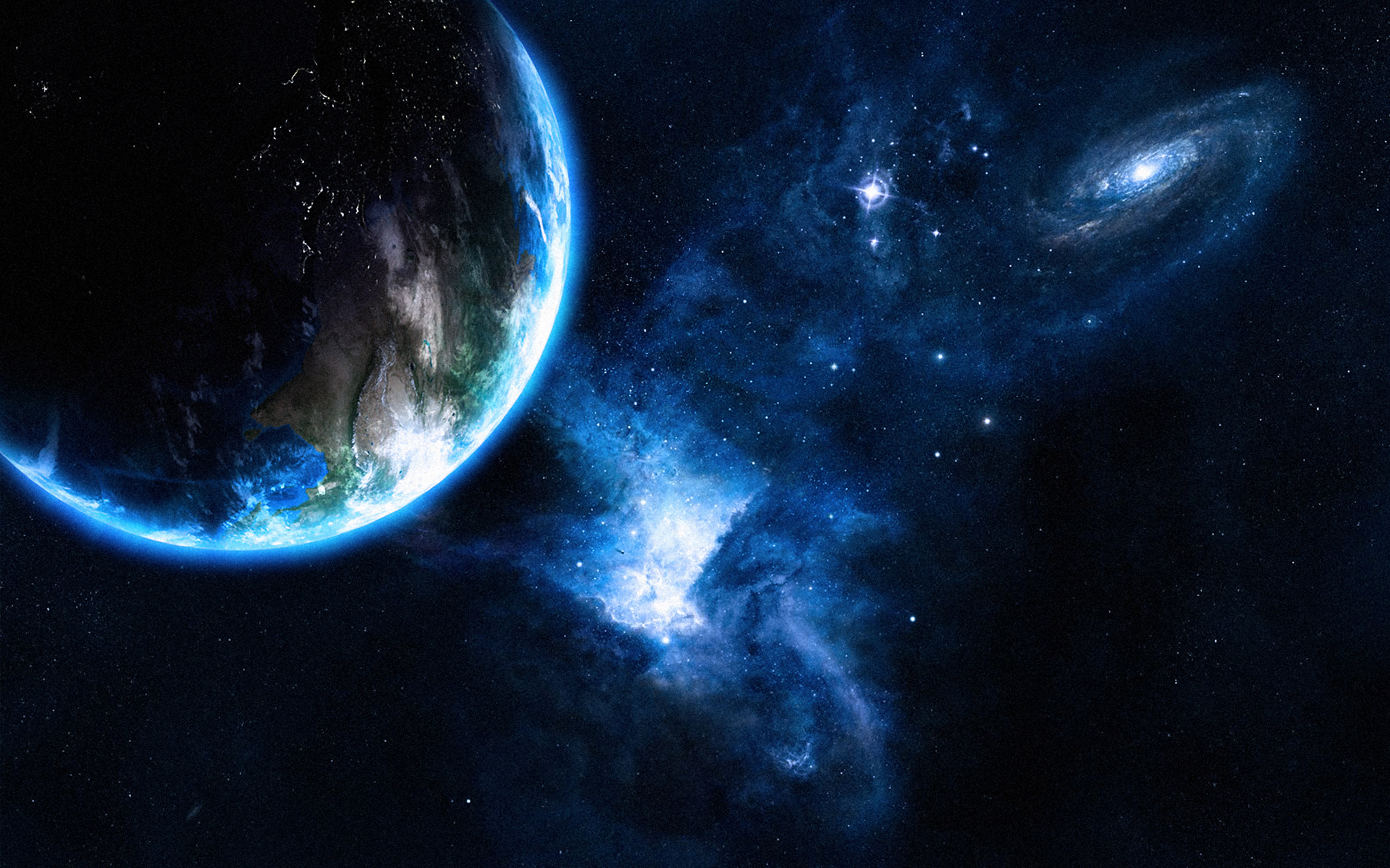 Planet Earth and the universe around