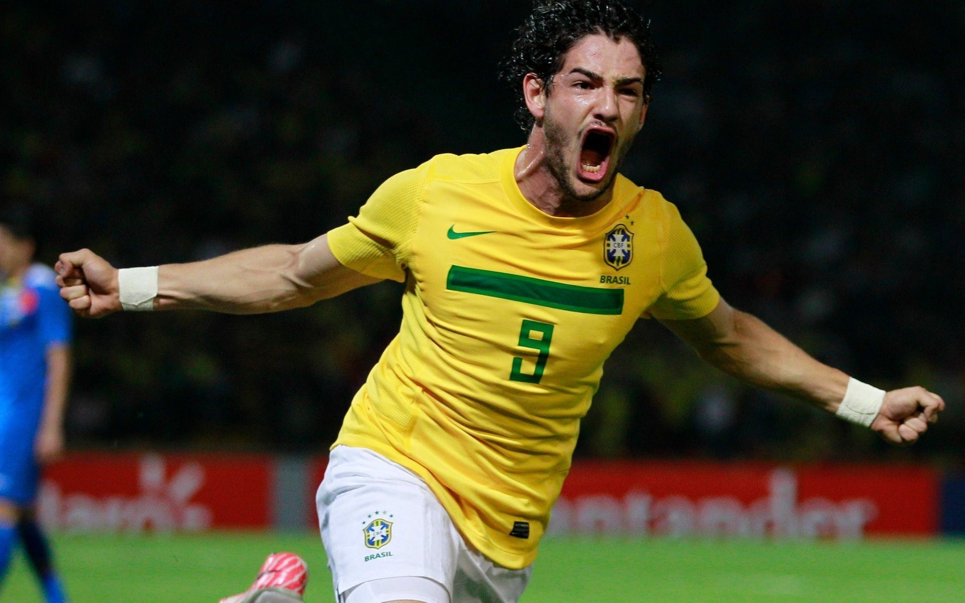 Alexandre Pato, the Brazilian soccer player, photo