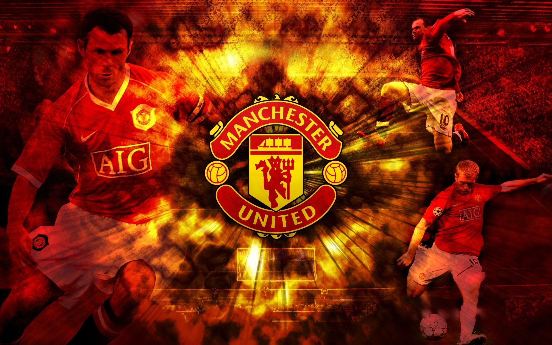 Logo football team Manchester United